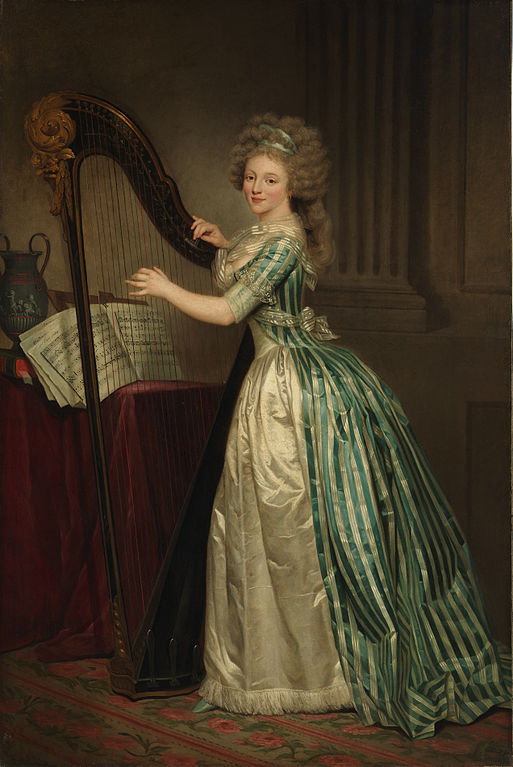Rose_adelaide_ducreux_Self-Portrait-with-Harp
